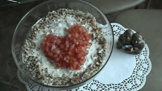 Салат от Валентины к дню Св.Валентина