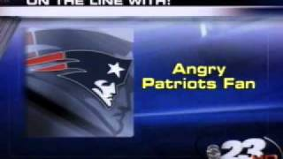 Angry Patriots Fan Wagers Packers will lose