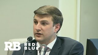 North Carolina Republican candidate's son says he warned him about possible election fraud