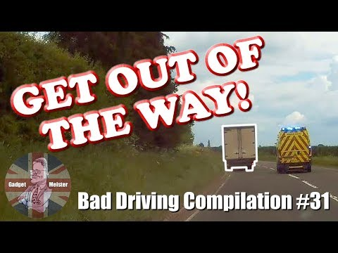 Bad Drivers UK Dash Cam Compilation #31