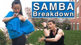 Samba Easy Solo Practice Routine🔥 Dance Lesson