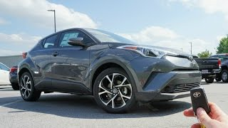 2018 Toyota C-HR: Start Up, Test Drive And Review