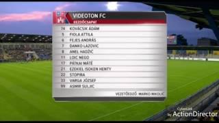 Mezőkövesd-Videoton : 0-2