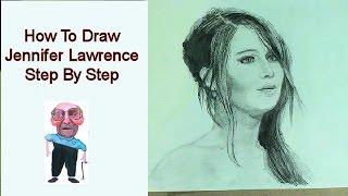 YouDraw: How to Draw Katniss (Jennifer Lawrence) Step By Step