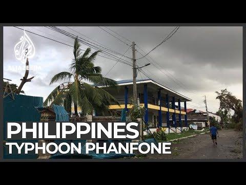 台风巴逢横扫菲律宾 已知至少16死