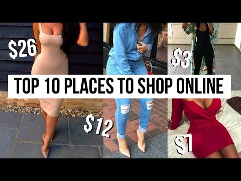 TOP 10 PLACES TO SHOP ONLINE | How To Look Expensive and Sty