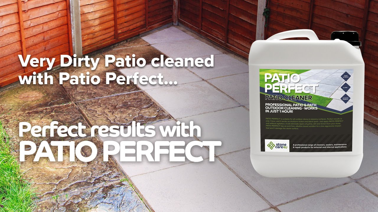 Patio Perfect Patio Cleaner - Before and After - YouTube