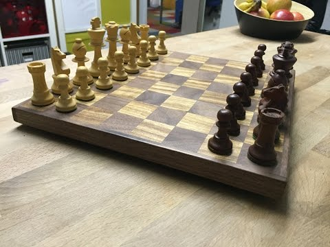 DIY | Wooden chessboard