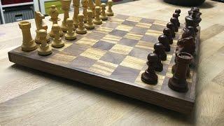 DIY | Wooden chessboard
