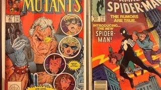 Comic book haul and key issues #14 ( Craigslist $.30 cent haul!!)