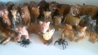 Обзор на мои фигурки животных