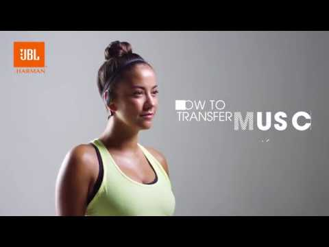 JBL Endurance DIVE How to Transfer music