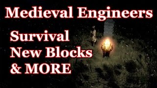 Medieval Engineers Update 02.006 - Survival Mode, Night Time & More Blocks!