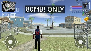 Android GTA 5? Best Open World Game For Android In 80 MB