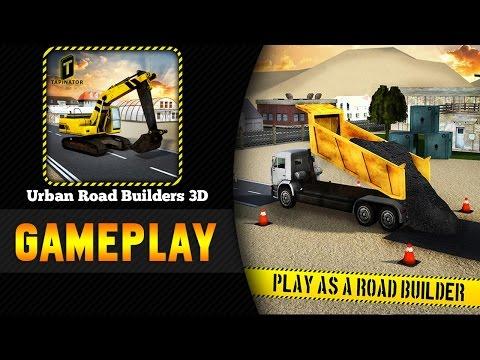 Urban Road Builders 3D  | Android Gameplay Deutsch