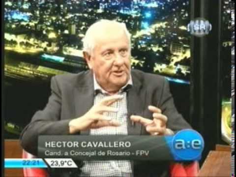 C6 2211 Cavallero con Marcelo Fernandez