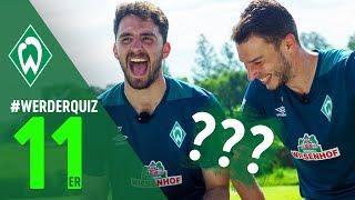 #WERDERQUIZ 11er - Jiri Pavlenka & Stefanos Kapino | SV Werder Bremen