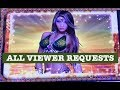 OUR 4TH ALL VIEWER REQUESTS VIDEO ⭐️ HANDPAY SKY RIDER ⭐️ZEUS ⭐️HEXOGEMS ⭐️TOP DOLLAR ⭐️EASY MONEY