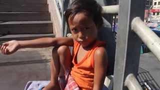 Batang Namamalimos sa Init ng Haring Araw..Begging, Panhandling