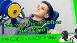 Ab welchem Alter sollten wir Jugendliche im Fitnessstudio trainieren lassen?