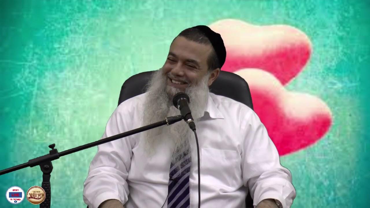Rabi Igal Cohen-3 minutos de fe - pareja antes y después de la boda.