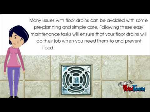 Floor Drain Service and Repair in Prosper