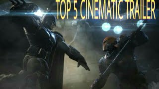 Top 5 Most Legendary Video Game Cinematic Trailer of All Time