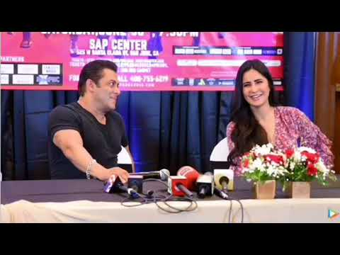 Salkat VM ~ Dabangg Tour Moments 2018   Salman Khan & Katrina Kaif  