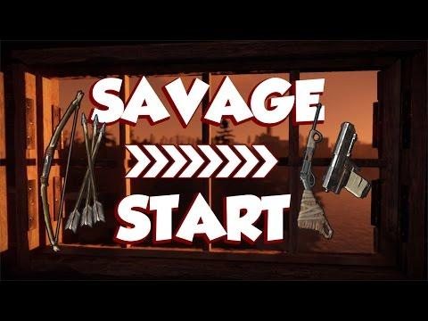 A SAVAGE START | Rust