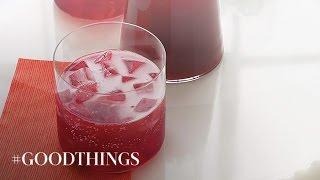 Good Things: Pomegranate Punch - Martha Stewart