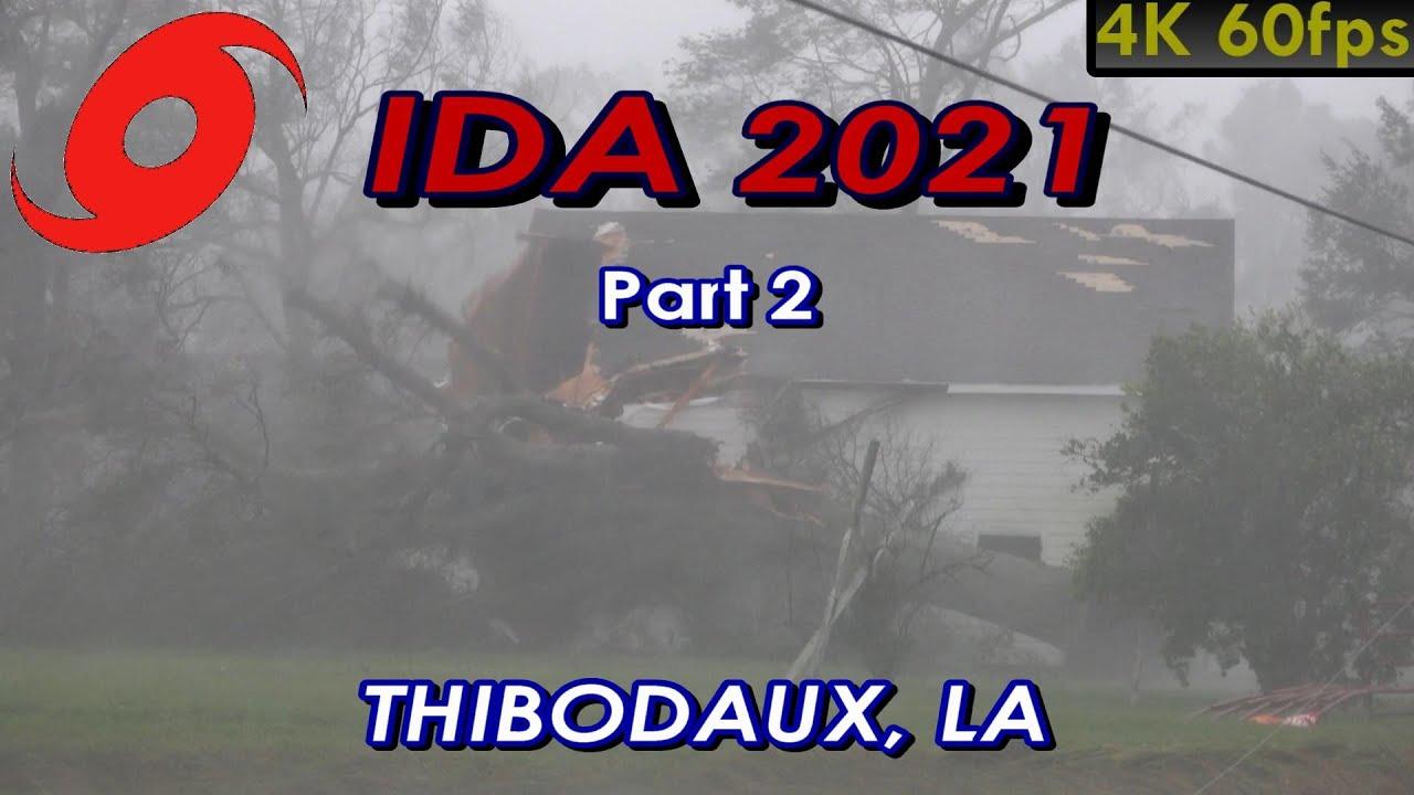 Download Chasing Hurricane Ida 2021 (Part 2) • Thibodaux [4K]
