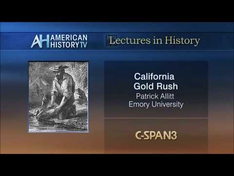 California Gold Rush of the mid 1800s