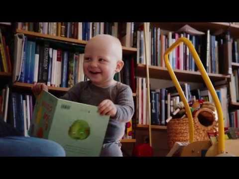 Bokstart: Att läsa för små barn. Film 1/4.