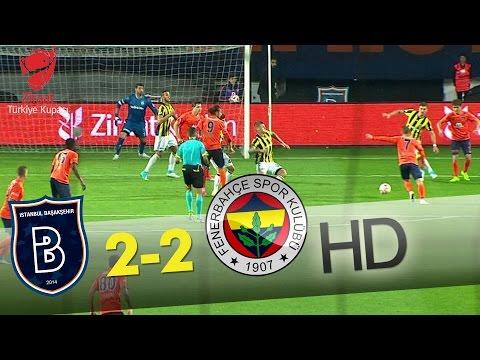 Başakşehir:2 - Fenerbahçe: 2 (Özet)
