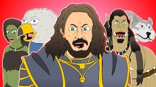 ♪ WARCRAFT THE MUSICAL - Animation Parody Song