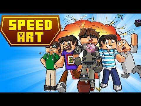 speedart quotnew worldquot a minecraft parody by