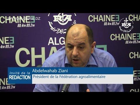 Abdelwahab Ziani, président de la Fédération agroalimentaire
