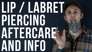 Lip & Labret Piercing Information and Aftercare | UrbanBodyJewelry.com