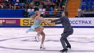 Ритм танец Танцы Rostelecom Cup Гран при по фигурному катанию 2019 20
