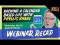 Rocking a Calendar Based Life with Google Calendar - Webinar Recap