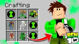 ROBLOX BEN 10 - HOW TO BECOME BEN 10 IN ROBLOX