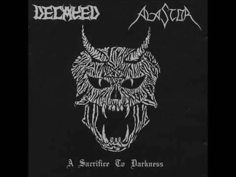 Decayed / Alastor - A Sacrifice To Darkness
