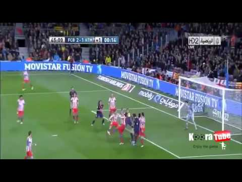 Barcelona vs Atletico Madrid 4-1 All Goals & Highlights HD 16_12_2012