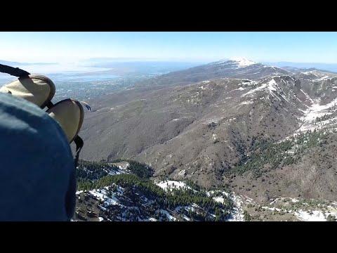 Paraglider Crashes Into Secret Government Facility