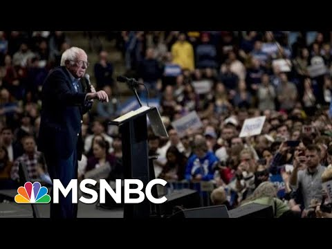 Sen. Bernie Sanders Captures Enthusiasm, Electricity Of NH   Morning Joe   MSNBC The panel discusses Sen. Sanders' rally Monday evening in Durham, NH and how he's currently the man of the moment in the Democratic field. Aired on ..., From YouTubeVideos