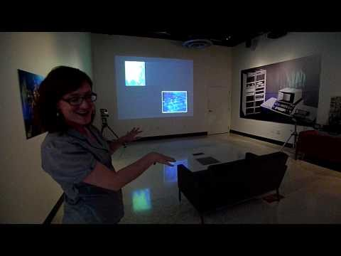 Gallery@Calit2 SYNTHESIS: PROCESSING AND COLLABORATION Walkthrough