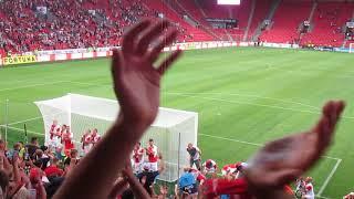SK Slavia Praha – MFK Karviná  4-0 28.07.2018 Děkovačka