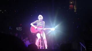 Taylor Swift Never Grow Up Verizon Center 5/11/13