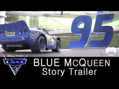 Cars 4 Blue Mcqueen Trailer Lightning Mcqueen Story Cars 3