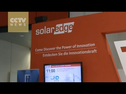 Solar energy industry showcases its best in Munich